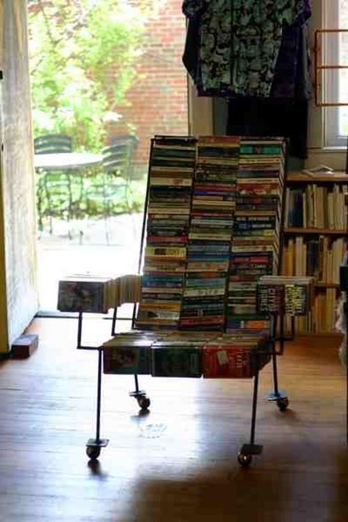arm chair-books