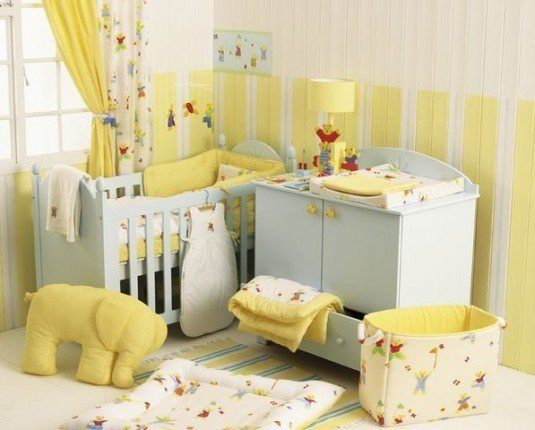 baby room-yellow