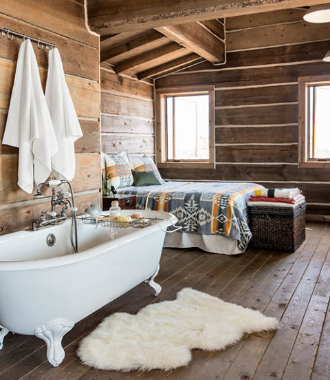bedroom-rustic style