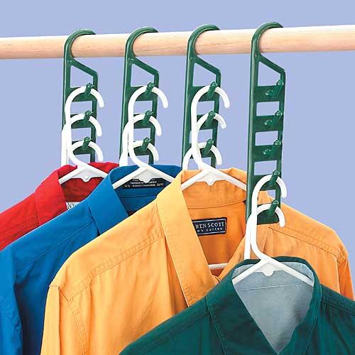 cool space saving hangers-vertical