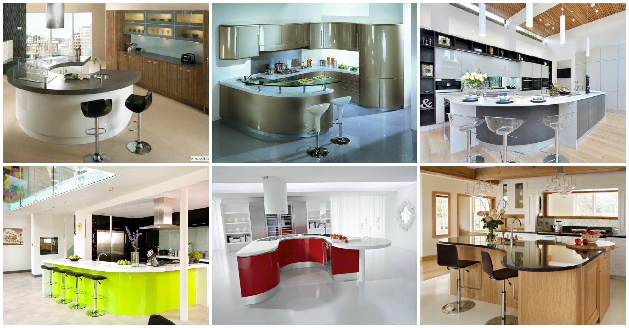 10 amazing curved kitchen islands