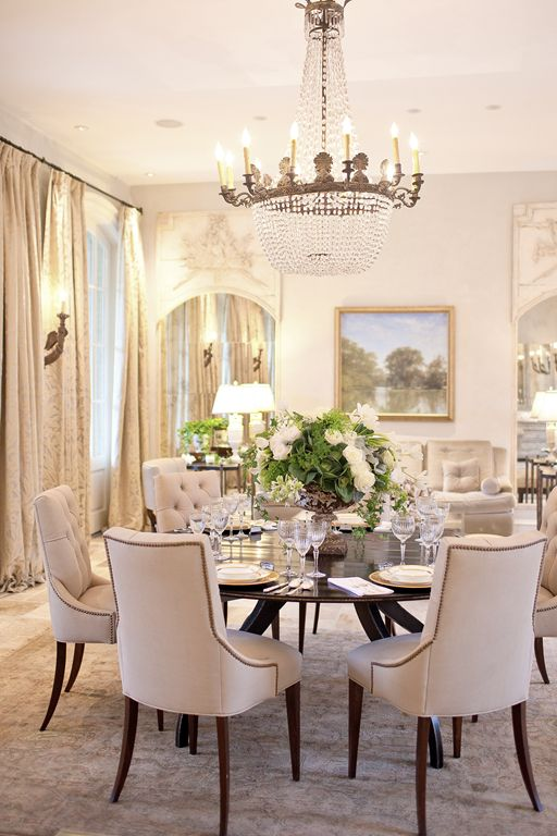 dining room-beige chairs