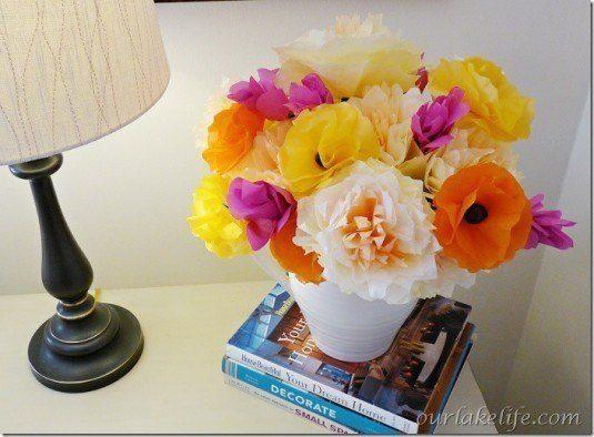 diy handmade flower bouquet