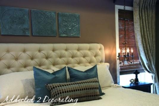 diy headboard for master bedroom
