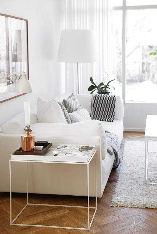 floor lamp-white