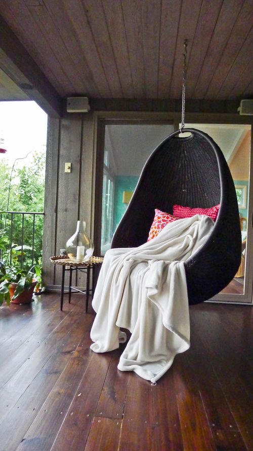 hanging chair-black
