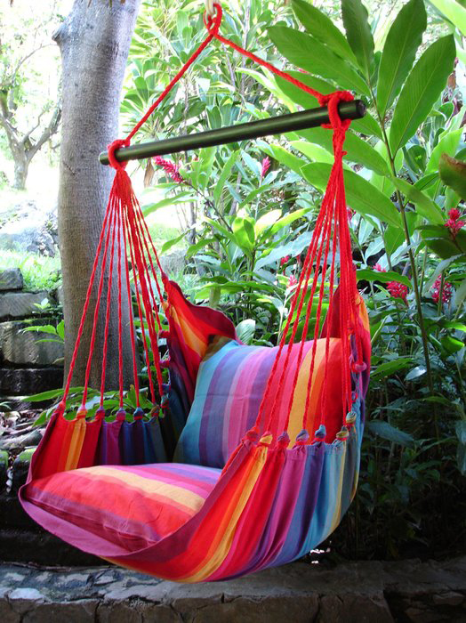 hanging chair-colorful