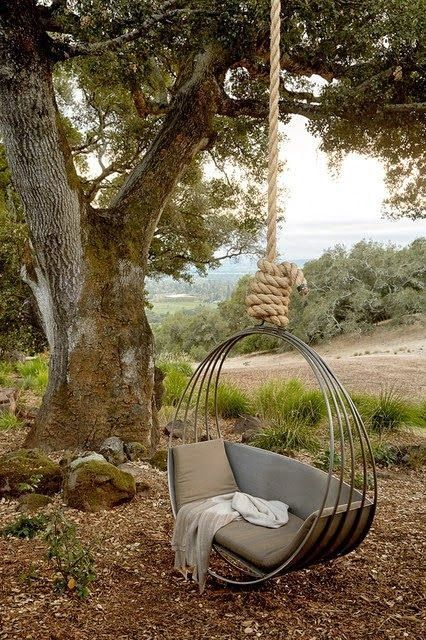 hanging chair-khaki