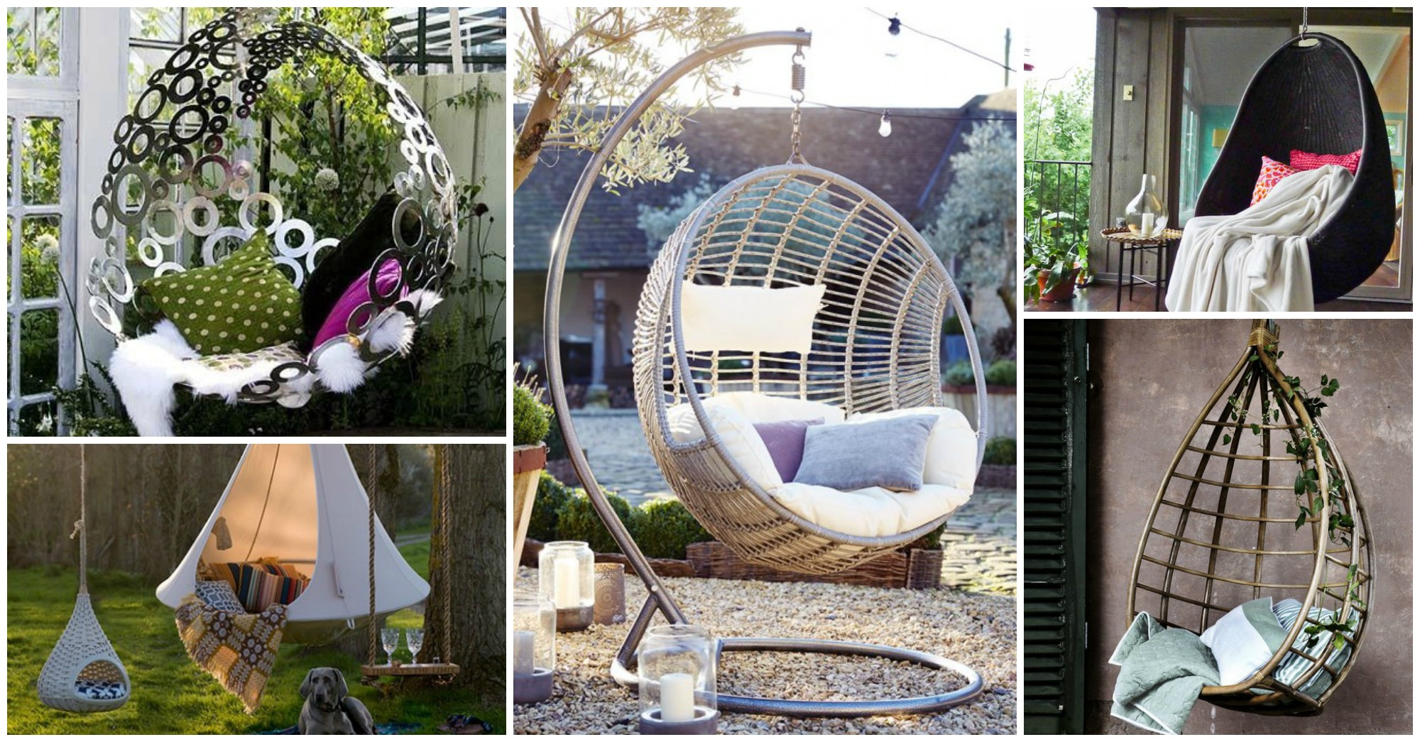 Hanging Chairs for Ultimate Relaxation in the Backyard
