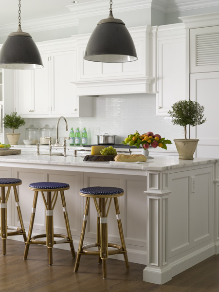 kitchen bar stools-dotted