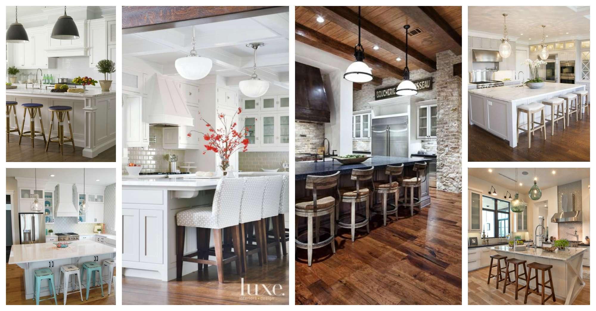 Amazing Kitchen Design Ideas with Bar Stools