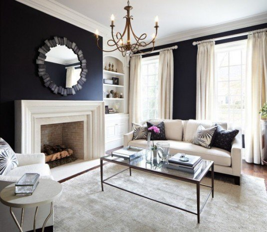 living room-modern and chic