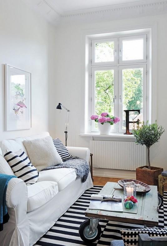 living room- scandinavian style