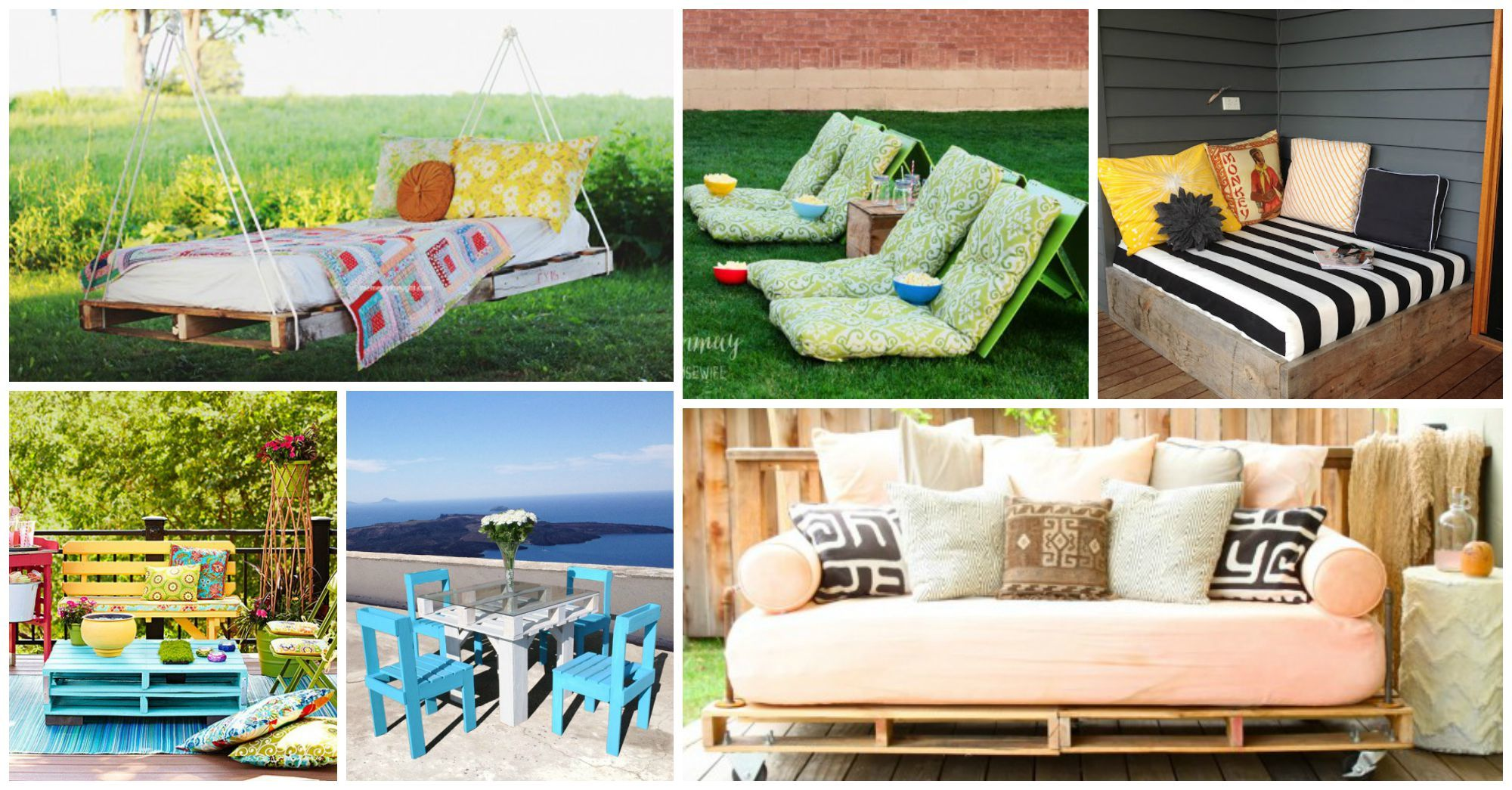 10 Creative and Innovative DIY Outdoor Furniture Ideas