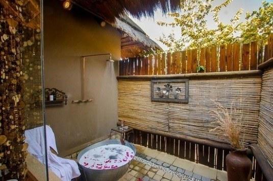 outdoor shower-luxury