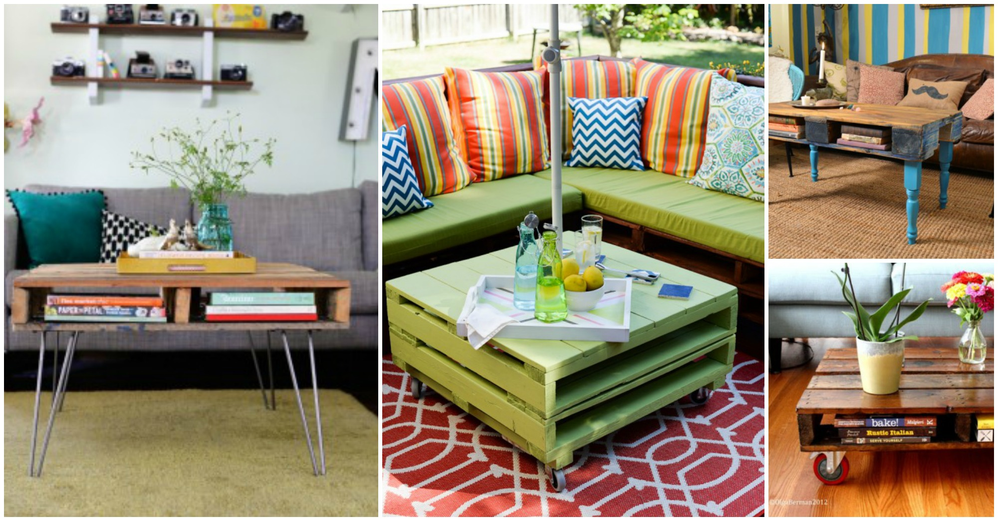 Top 10 DIY Palette Coffee Tables
