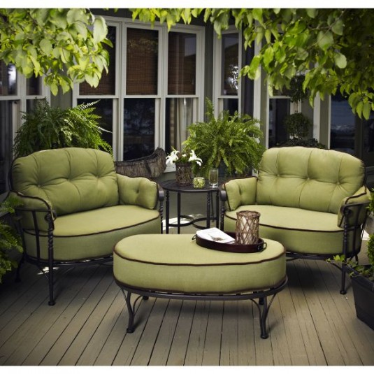 patio furniture-green