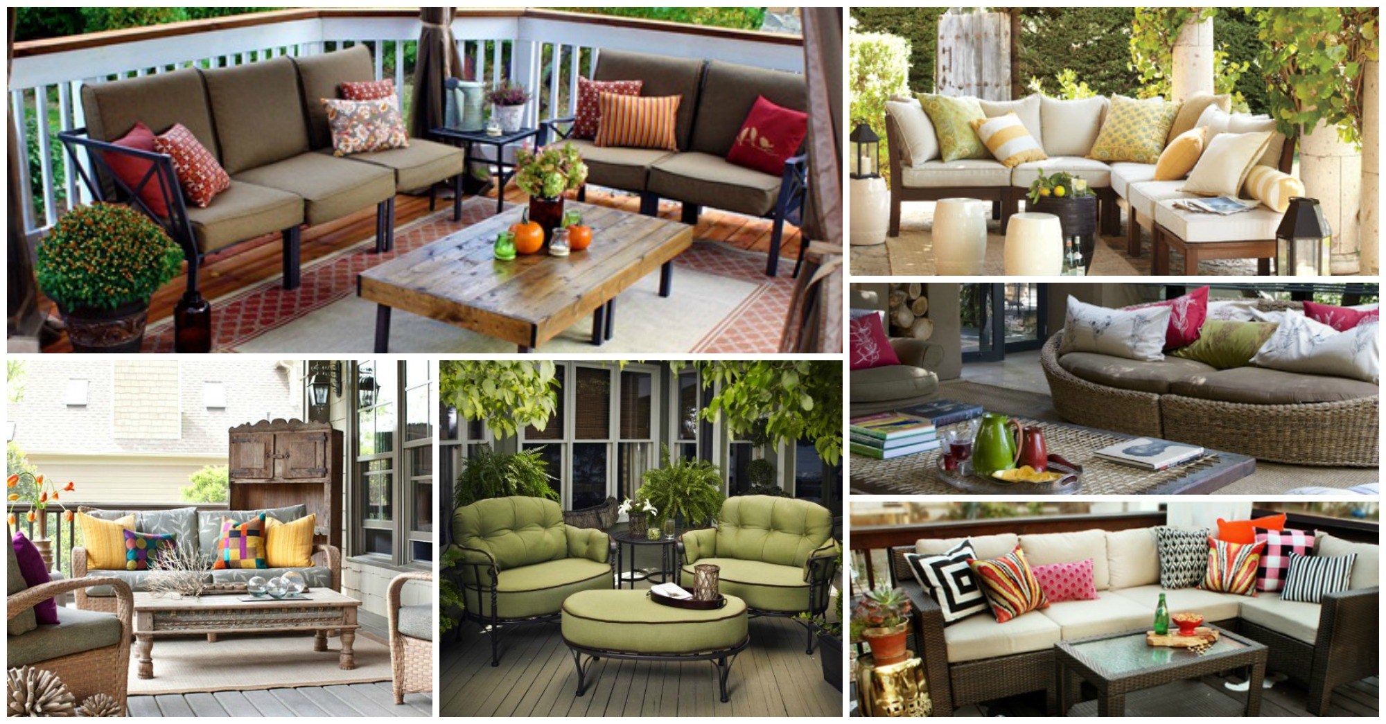 10 Patio Furniture Designs to Turn Your Yard into Relaxing Space
