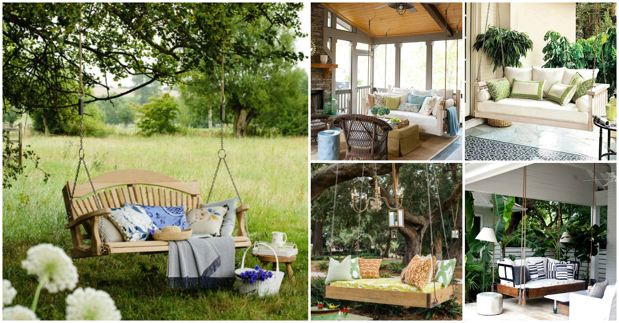 Fantastic Patio Swing Designs That You Would Like to Have