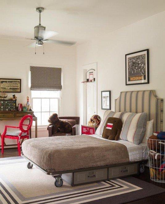 platform bed-vintage