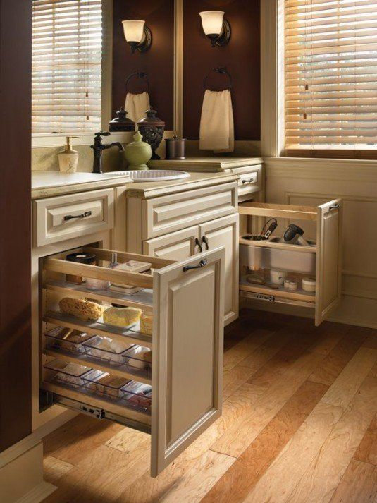 pull out cabinets