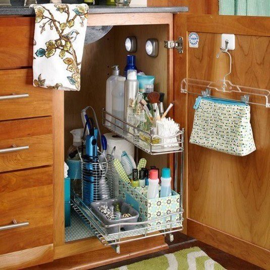 pull out storage caddy