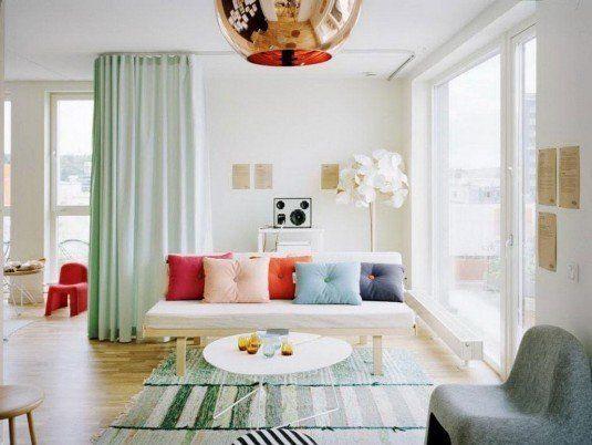 room devider-curtains