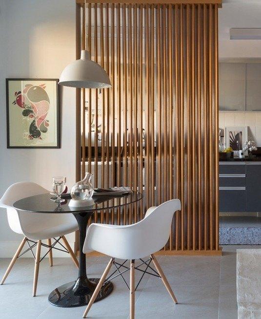 room devider-wood
