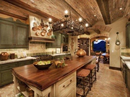 rustic kitchen-modern