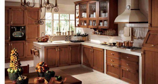 rustic kitchen-small