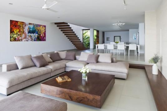 sectional sofa-beige