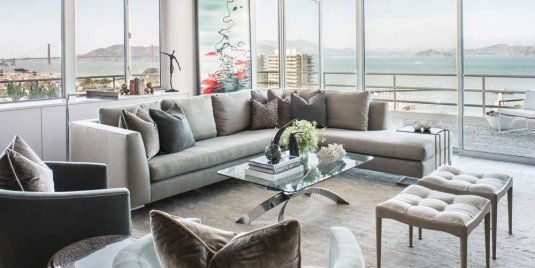 sectional sofa-gray