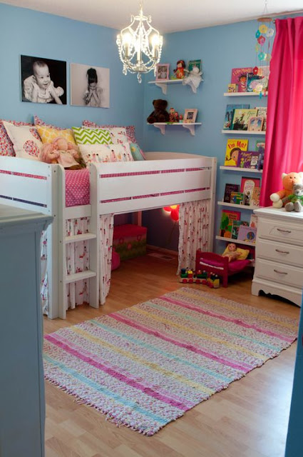 space saving bed-pinky