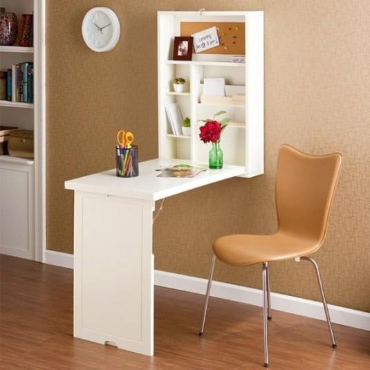 space saving desk-folding desk