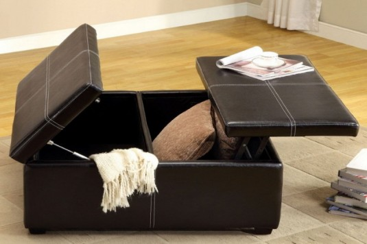 space saving furniture-ottoman