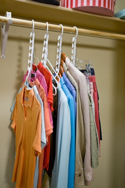 space saving hanger for clothes