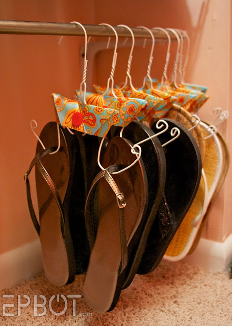 space saving holder for shoes