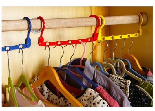 space saving holder for your closet