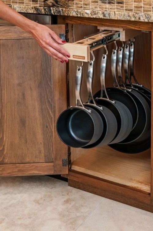 space saving rack - kitchen