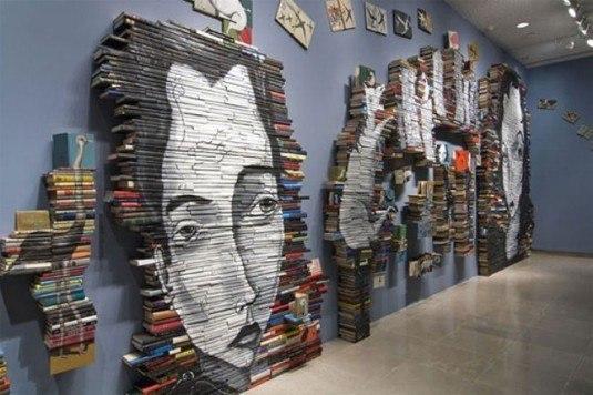 wall art-books
