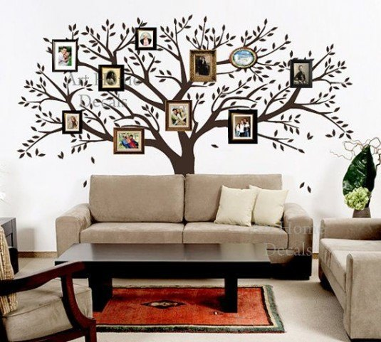 wall decal-family tree