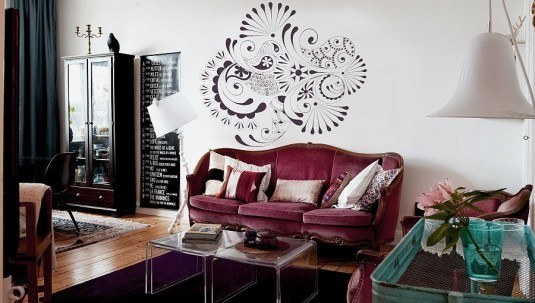 wall decal-flowers