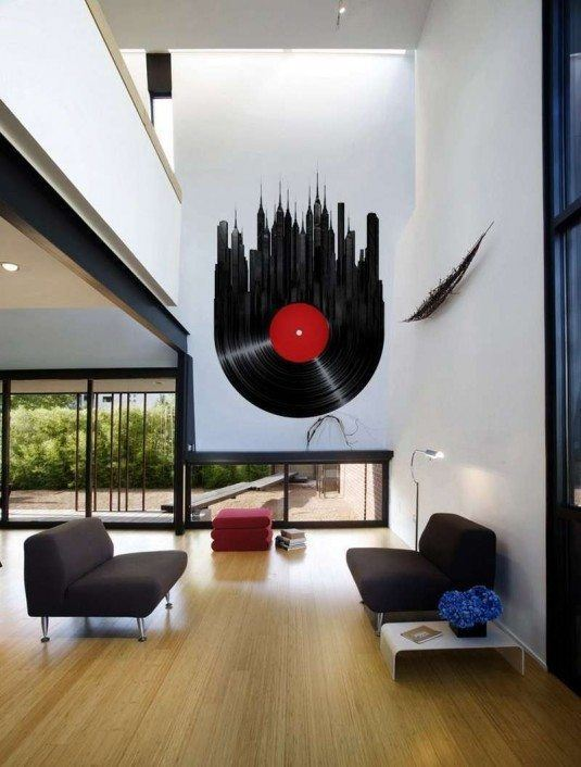 wall decal-music