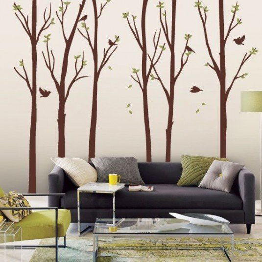 wall decal-trees