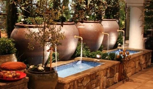 water feature-ceramic