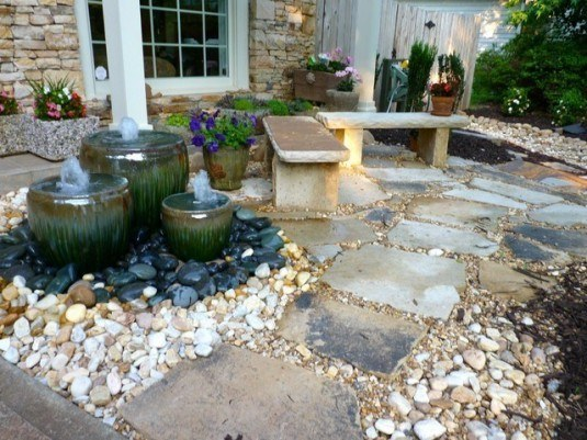 water feature-fauntain