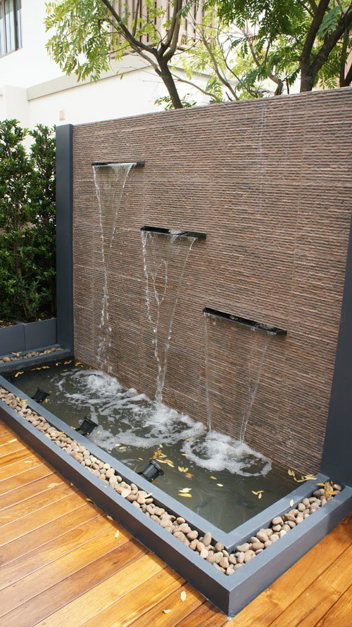 water feature-water wall