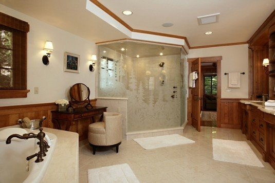 bathroom-etched glass