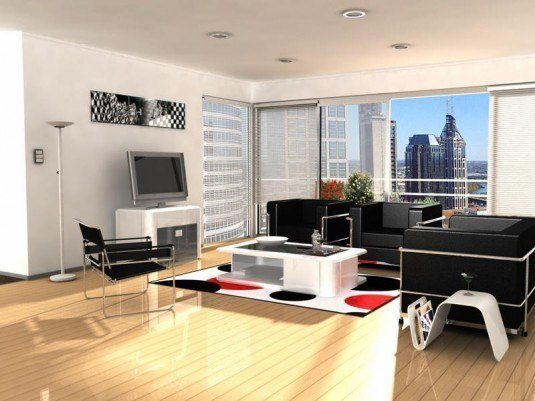 living room-black