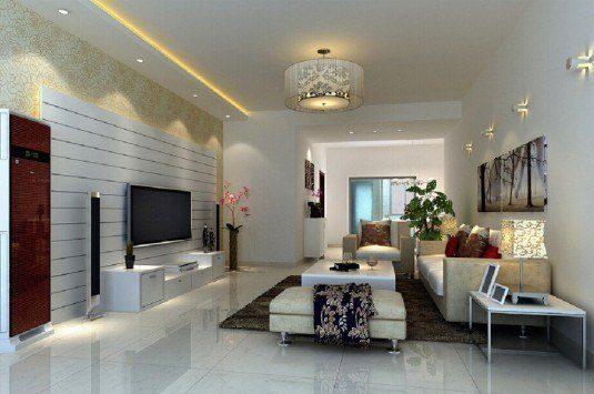 living room-white